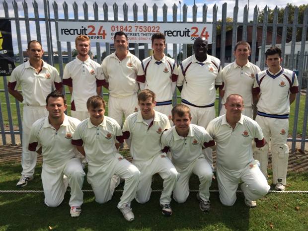 Recruit 24 Seven Sponsor Thetford Town Cricket Club For A Third Season